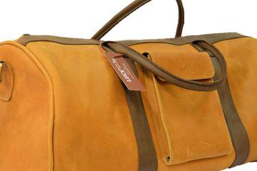 Men's Original Handmade Leather Bag (duffle) for Sale in Lorton,  VA
