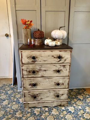 Refinished chest of drawers for Sale in Newington, CT