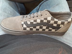 Brand new checkerboard vans new with box never worn for Sale in College Station, TX