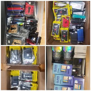 iPhone and Samsung shockproof cases and tempered glass in bulk for Sale in Hialeah, FL