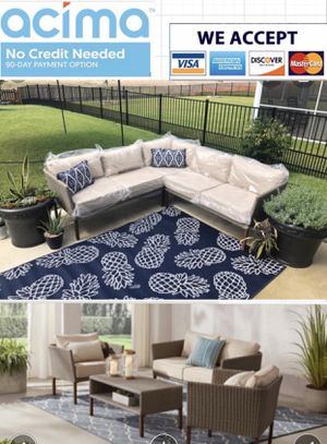 Patio furniture set for 9 people for Sale in Riverside, CA