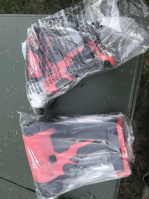Milwaukee tools heat gun and hex impact for Sale in Silver Spring, MD