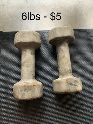 6lb Dumbbell Set for Sale in Tamarac, FL