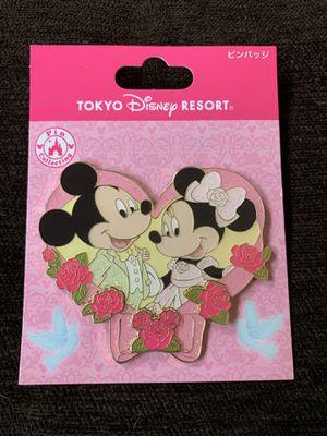 Tokyo Disneysea Resort Exclusive Mickey and Minnie Pin for Sale in Los Angeles, CA