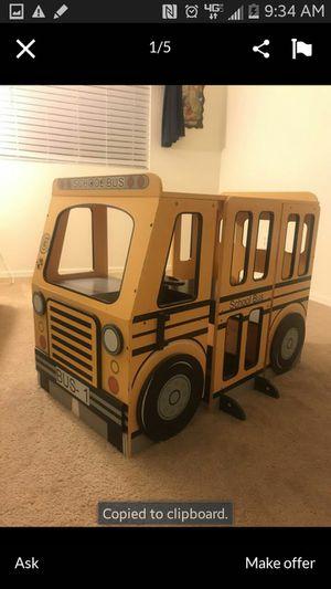 Kids school bus desk for Sale in Maricopa, AZ
