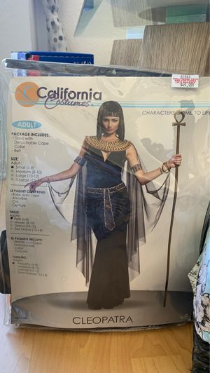 Cleopatra Costume - Size S for Adults for Sale in Los Angeles, CA
