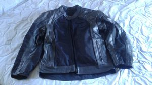 BiLT Motorcycle Leather Mesh Jacket Armored Padded Black Size UK 40 BLL4 for Sale in El Cajon, CA