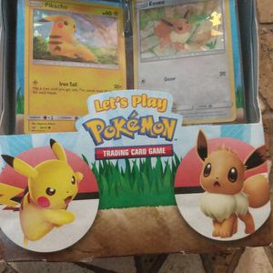 Brand New Pokemon Let's Play Pikachu And Eevee Theme Deck Unopened for Sale in Orlando, FL