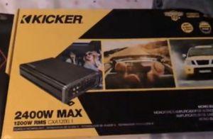 2400 watt kicker amp for Sale in Pittsburgh, PA