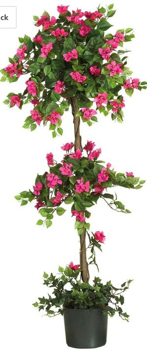 Nearly Natural 5228 Mini Bougainvillea Topiary Beauty, 5-Feet for Sale in Indianapolis, IN