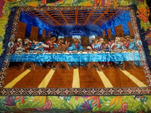 The last supper wall tapestry for Sale in Biloxi, MS