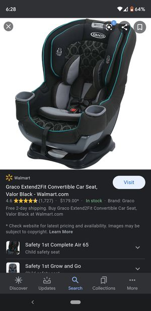 Graco Extend2Fit convertible carseat 180 in store for Sale in Winston-Salem, NC