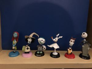 The nightmare before Christmas characters for Sale in Marietta, GA