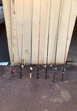 Fishing Rod and reels for Sale in Mesa, AZ