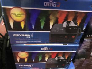 Chauvet Dj geyser p5 on sale today for 299 each for Sale in South Gate, CA