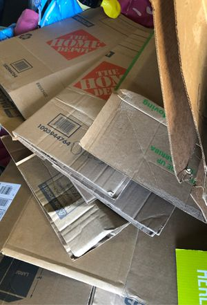 Moving Boxes, various size. FREE for Sale in McKinney, TX