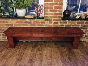 Handmade wooden bench for sale for Sale in Richmond, VA