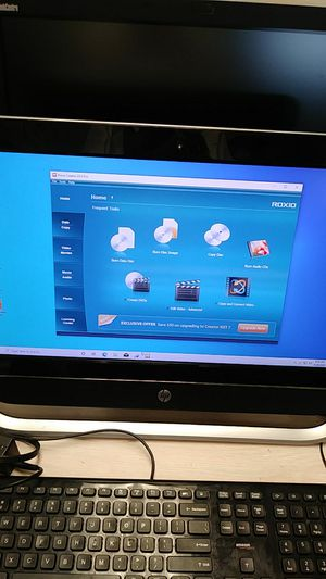 """Hp all in one computer 20 """" for Sale in Lake Worth, FL"""