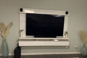 Floating Entertainment Center for Sale in Bakersfield, CA