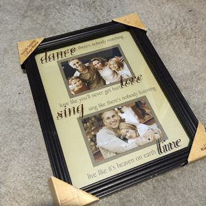 Dance, sing, live Photo frame for Sale in River Grove, IL
