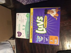 luvs pampers and parents choice wipes for Sale in New Haven, CT