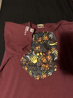 Bape shirt xl for Sale in Glendale, AZ