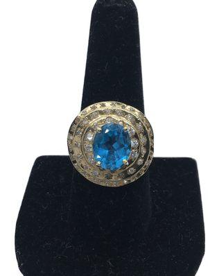 14k Topaz/Diamonds Ring for Sale in Alexandria, VA