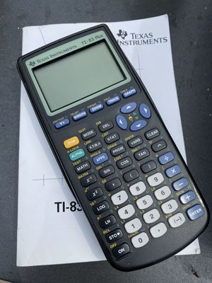 Used TI-83 Graphing Calculator for Sale in Bay City, MI