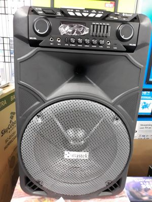 """15"""" Bluetooth Speaker Rechargeable for Sale in Houston, TX"""