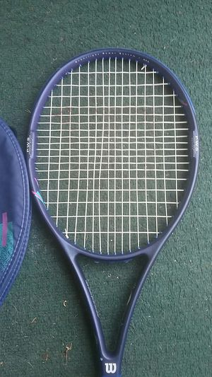 Wilson brand tennis racket the aggressor 95sq in head. for Sale in Seattle, WA
