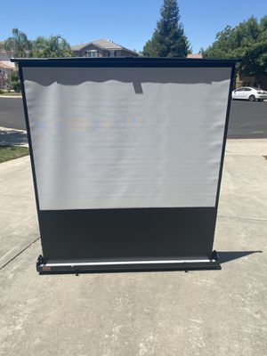 Projector screen Draper Inc. for Sale in Clovis, CA