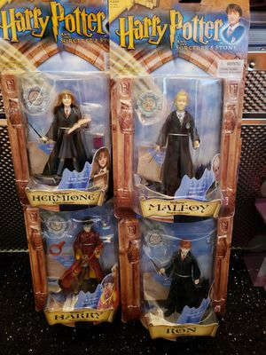 Bundle of 4 Harry Potter Action Figures for Sale in Philadelphia, PA