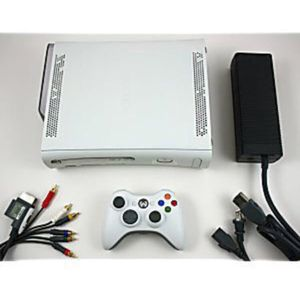 """Microsoft Xbox 360 """"premium"""" Vintage game Console and Controller for Sale for sale  Lake Forest Park, WA"""