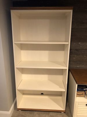 Bookshelf Pair and Filing Cabinet - Pottery Barn for Sale in Maineville, OH