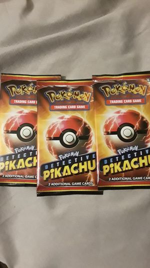 Pokemon Detective Pikachu Trading Cards for Sale in Downey, CA