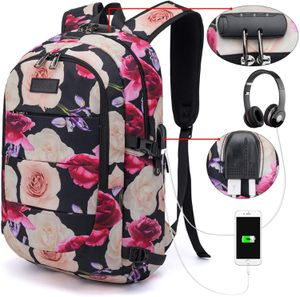 Brand New Girls Backpack Water Resistant Anti-Theft College Bag with USB Charging Port & Lock Women for Sale in Queens, NY