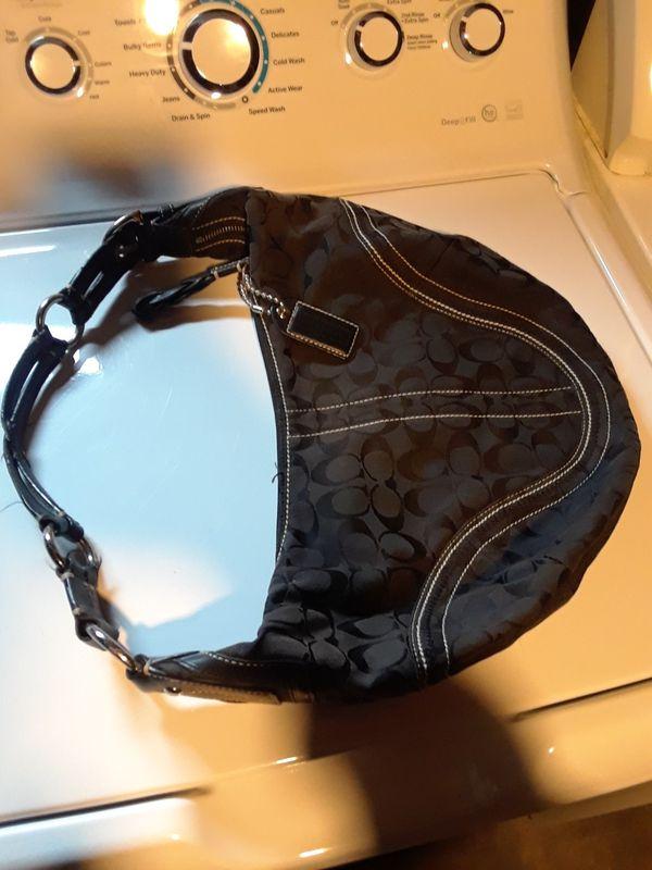 Coach hobo satchel bag