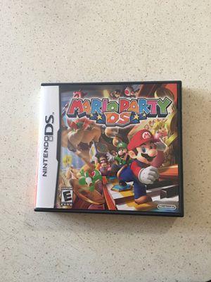 DS Nintendo Mario's party game for Sale in Escondido, CA
