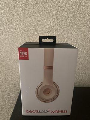 Beats Solo 3 Wireless Headphones for Sale in Sacramento, CA