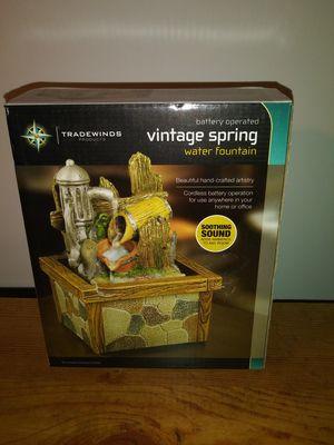 Vintage Spring Water Fountain for Sale in Cincinnati, OH