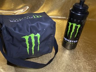 Monster Energy Drink Water Bottle And Insulated Cooler Bag for Sale in San Antonio,  TX