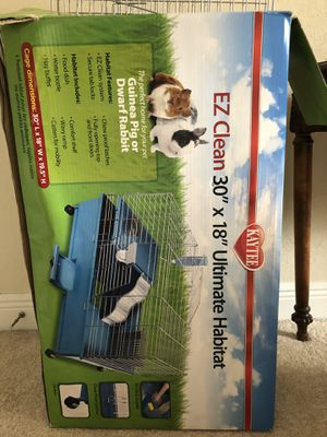 """Guinea Pig/Rabbit Cage. 30"""" x 18"""". Like brand new. Moving. Need gone ASAP for Sale in Cape Coral, FL"""
