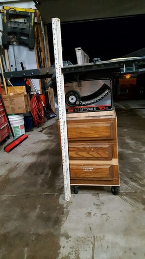 10 inch craftsman table saw for Sale in Littleton, CO