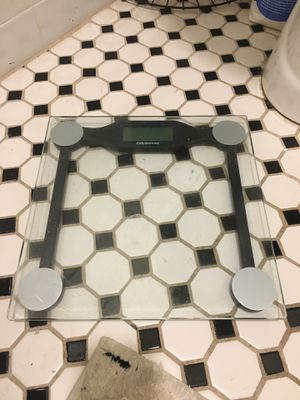 Glass bathroom scale for Sale in Los Angeles, CA