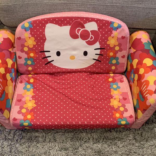Hello Kitty 2-in-1 Flip Open Sofa