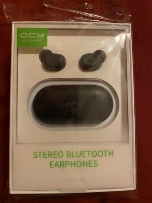 Qcy Bluetooth earbuds for Sale in Brownsville, TX