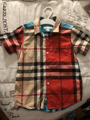 6Y Burberry Shirt for Sale in Alexandria, VA
