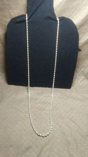Silver chain for Sale in Yuma, AZ