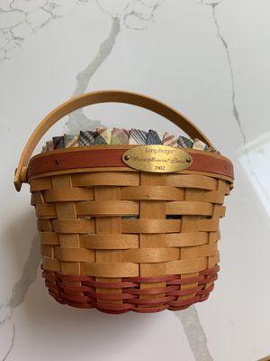Longaberger basket for Sale in Bethesda, MD