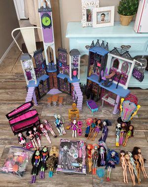 Huge lot of Monster High dolls school for Sale in Tolleson, AZ